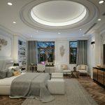 Ảnh phòng ngủ Tân Cổ Điển – Phào chỉ trang trí nội thất đẹp