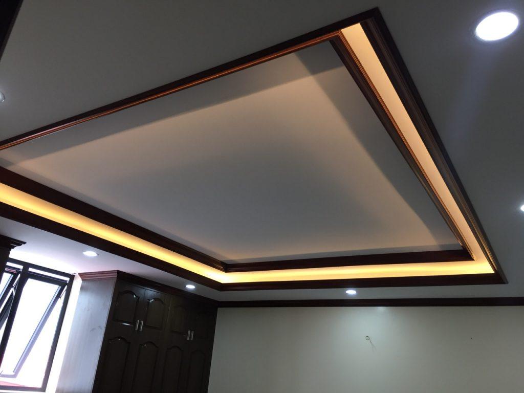 Phào trần PVC vân gỗ