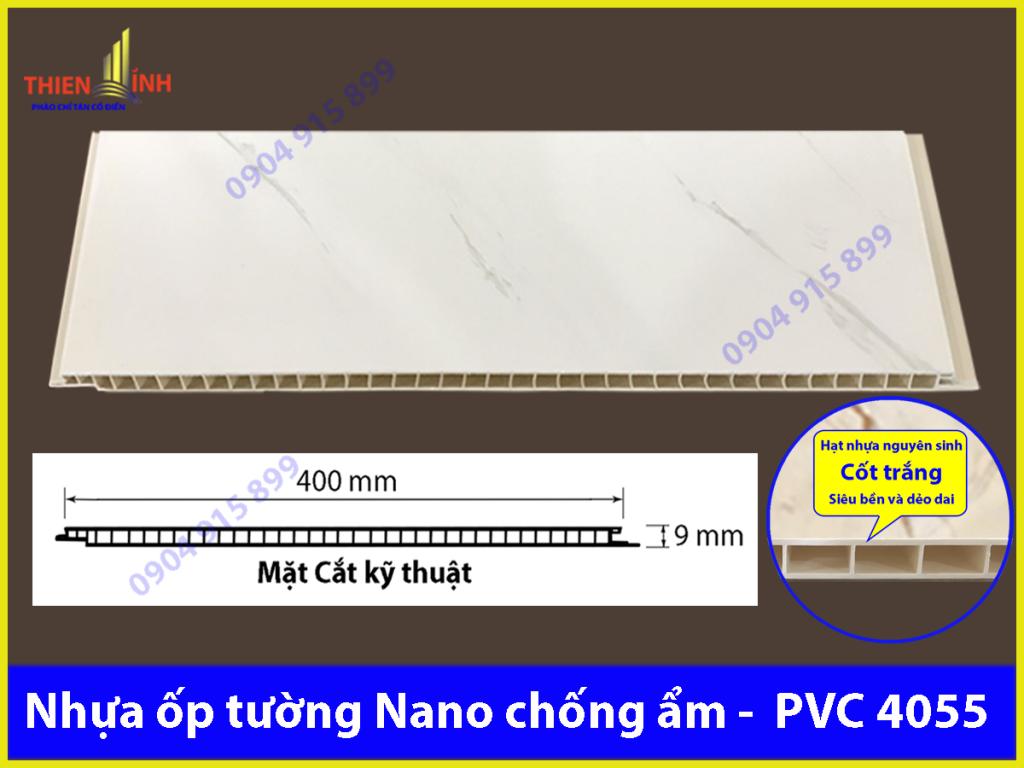 Nhựa ốp tường Nano chống ẩm - PVC 4055