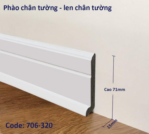 Phao chan tuong, len chan tuong ma PT706-320
