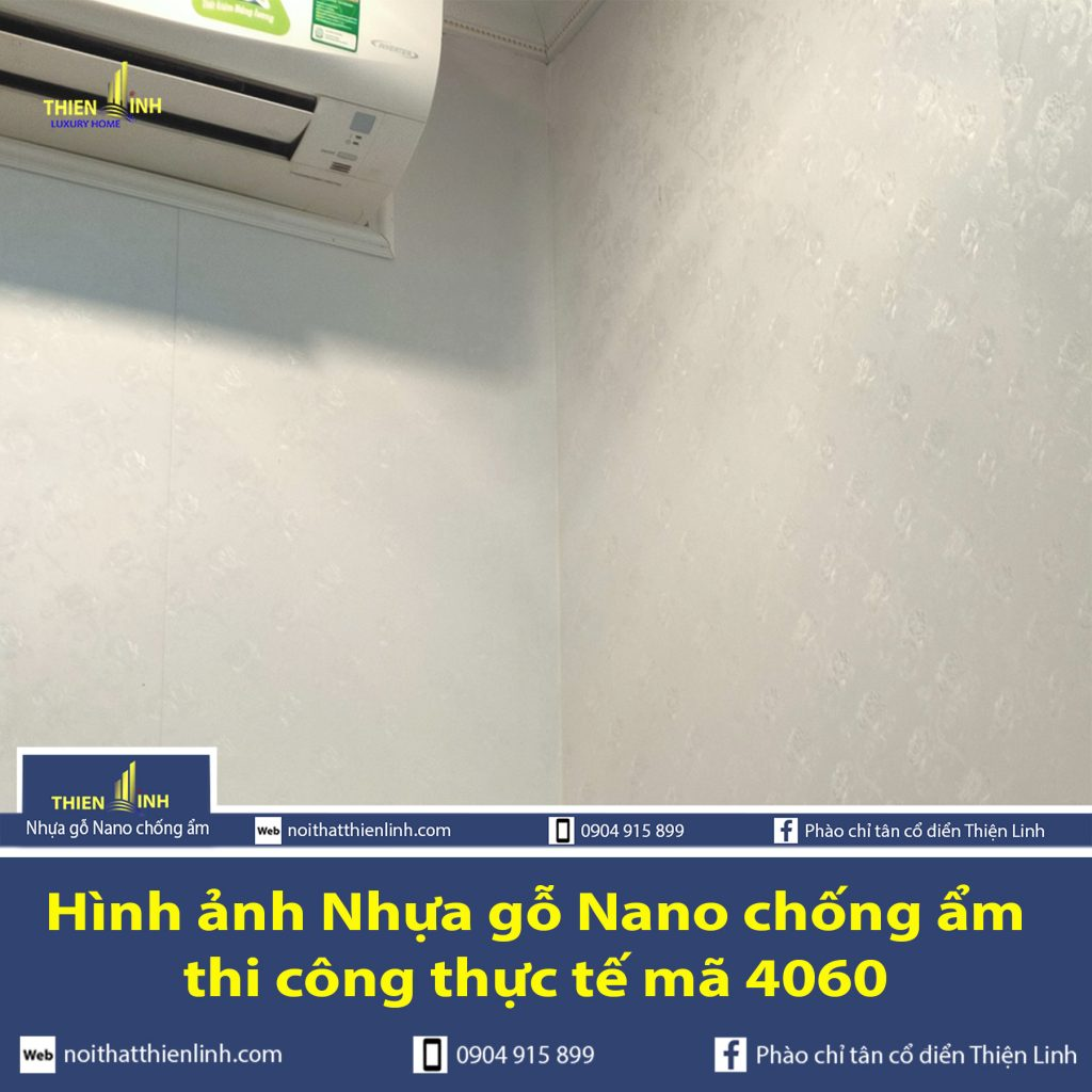 Hình ảnh Nhựa gỗ Nano chống ẩm thi công thực tế mã 4060 (3)