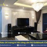 Hình ảnh Phào chỉ trang trí căn hộ Goldmark City – Hồ Tùng Mậu