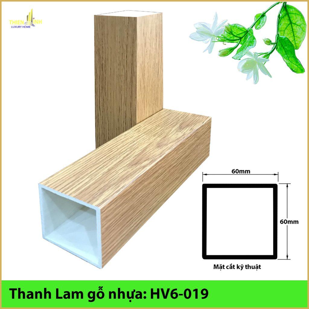 Thanh Lam gỗ nhựa HV6-019