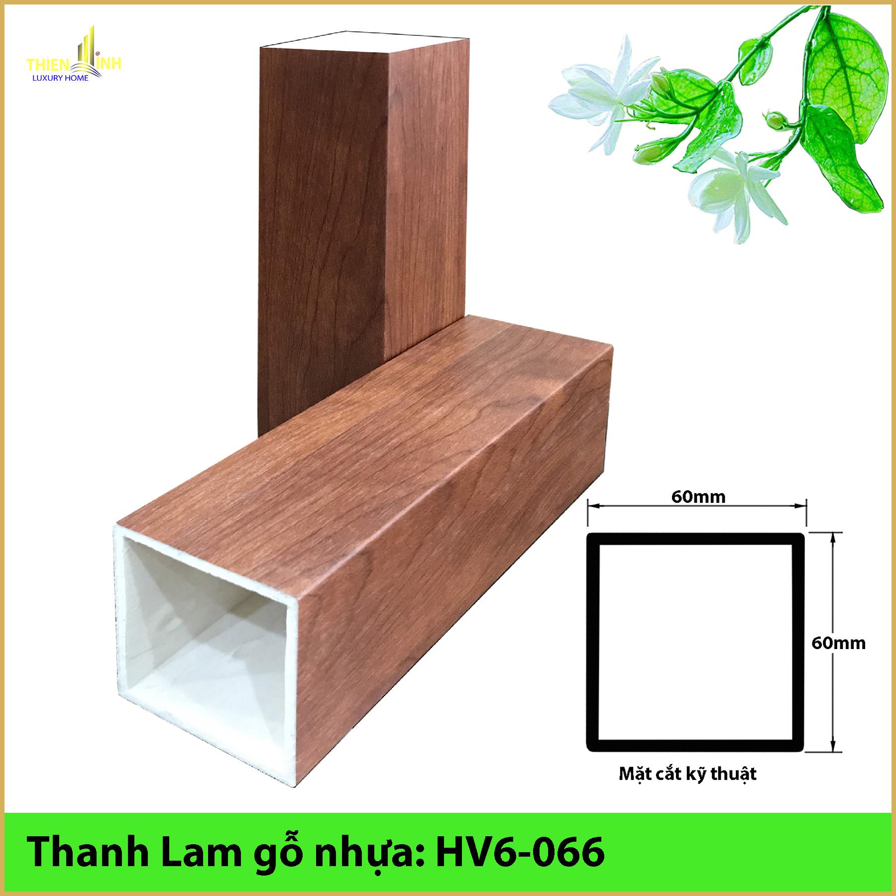 Thanh Lam gỗ nhựa HV6-066
