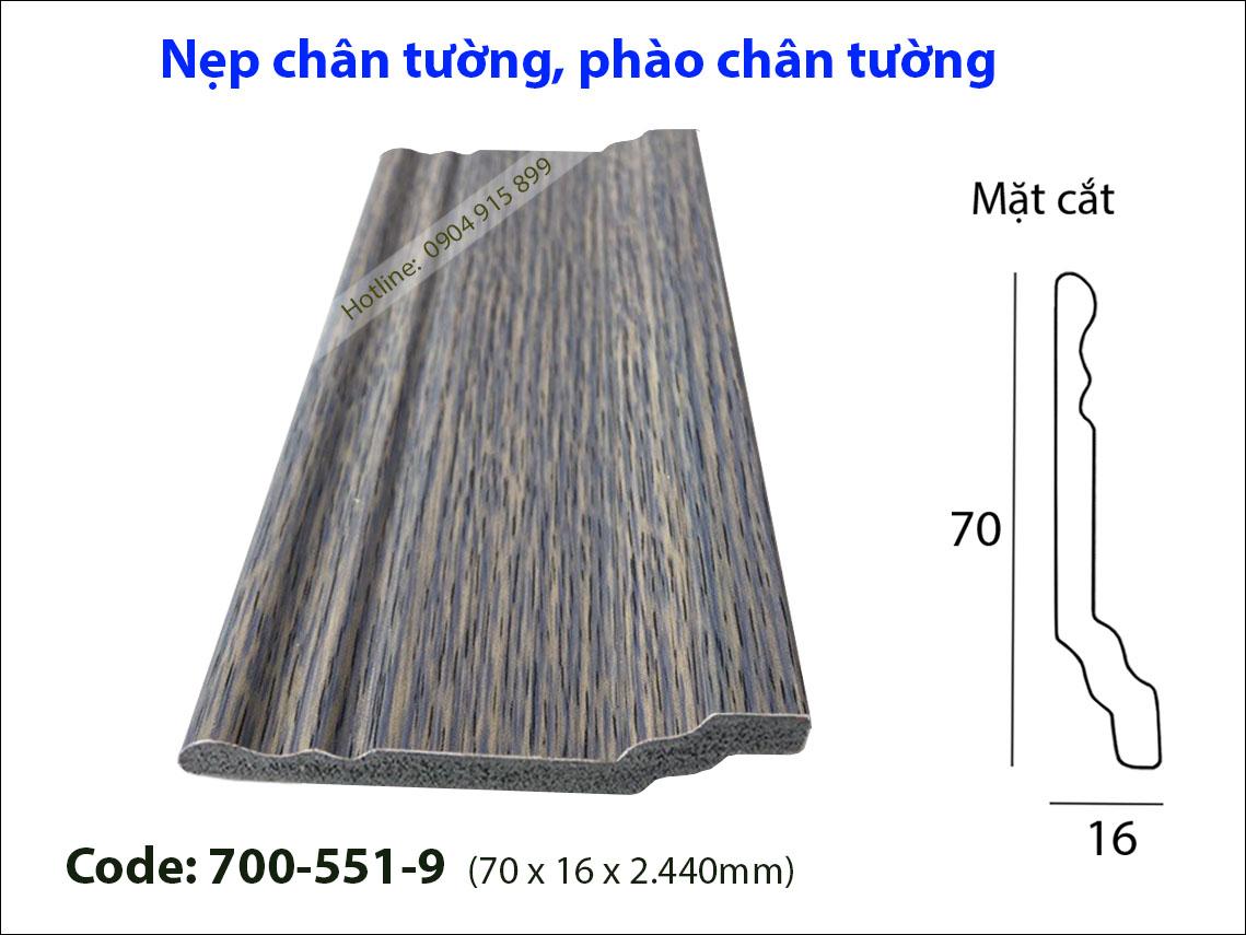Len chan tuong 700-551-9
