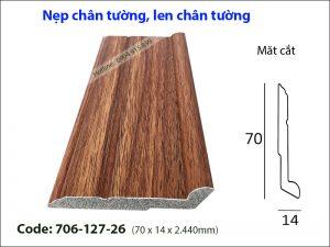 Nep chan tuong, len chan tuong 706-127-26