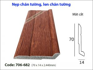 Nep chan tuong, len chan tuong 706-682