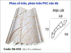 Phào cổ trần, phào trần PVC 98-050